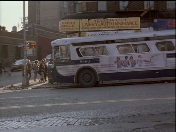 Buses On Screen Fort Apache The Bronx 1981 Paul Newman