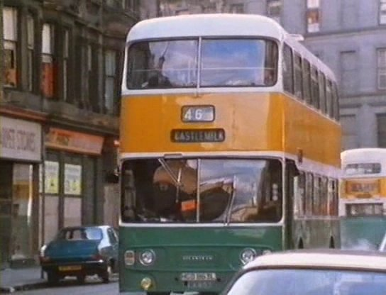 A streetcar named CASTLEMILK... a tense moment from Bill Forsyth's 'That Sinking Feeling' (1980)