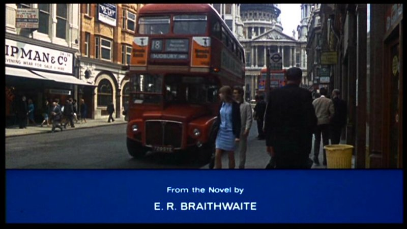 Buses On Screen To Sir With Love 1967 Sidney Poitier